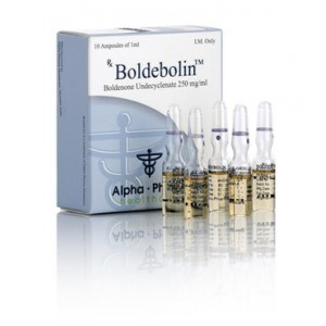 Alpha Pharma Boldebolin 250mg 10 Amp