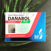Balkan Pharma Danabol 10mg 100 Tablets