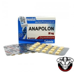 Balkan Pharma Anapolon 50mg 60 tablets
