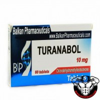 Balkan Pharma Turanabol 10mg 60 tablets