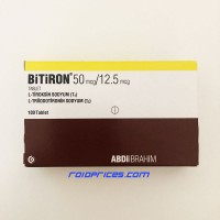 Bitiron T3-T4 Mix 100 Tablets
