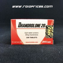 Bvs Labs Oxandrolone 20mg 100 Tablets