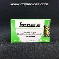 Bvs Labs Turanabol 20mg 100 Tablets