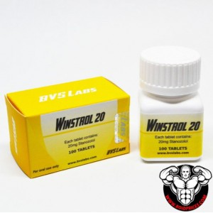 Bvs Labs Winstrol 20mg 100 Tablets