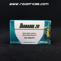 Bvs Labs Dianabol 20mg 100 Tablets
