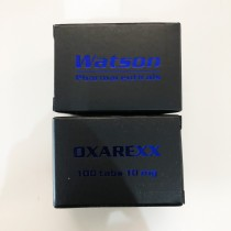 Watson Pharmaceuticals Oxarexx 10mg 100 Tablets